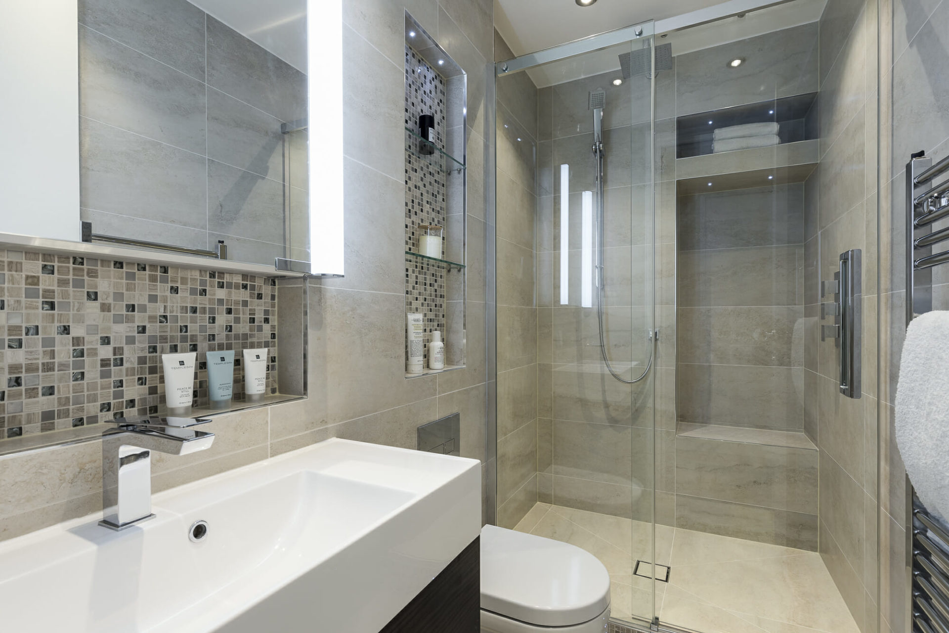 Shower Designs for Small Bathroom